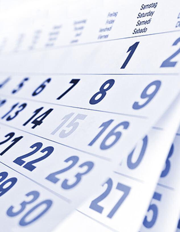 Calendar Announcement