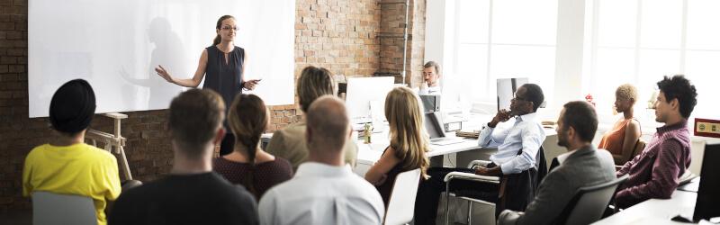 Speaker Training Whiteboard